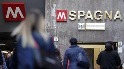 Fumo dai freni di una vettura trainata: chiusa per alcune ore la stazione metro Spagna a