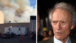 Studios in fiamme ma Clint Eastwood si rifiuta di andare via: