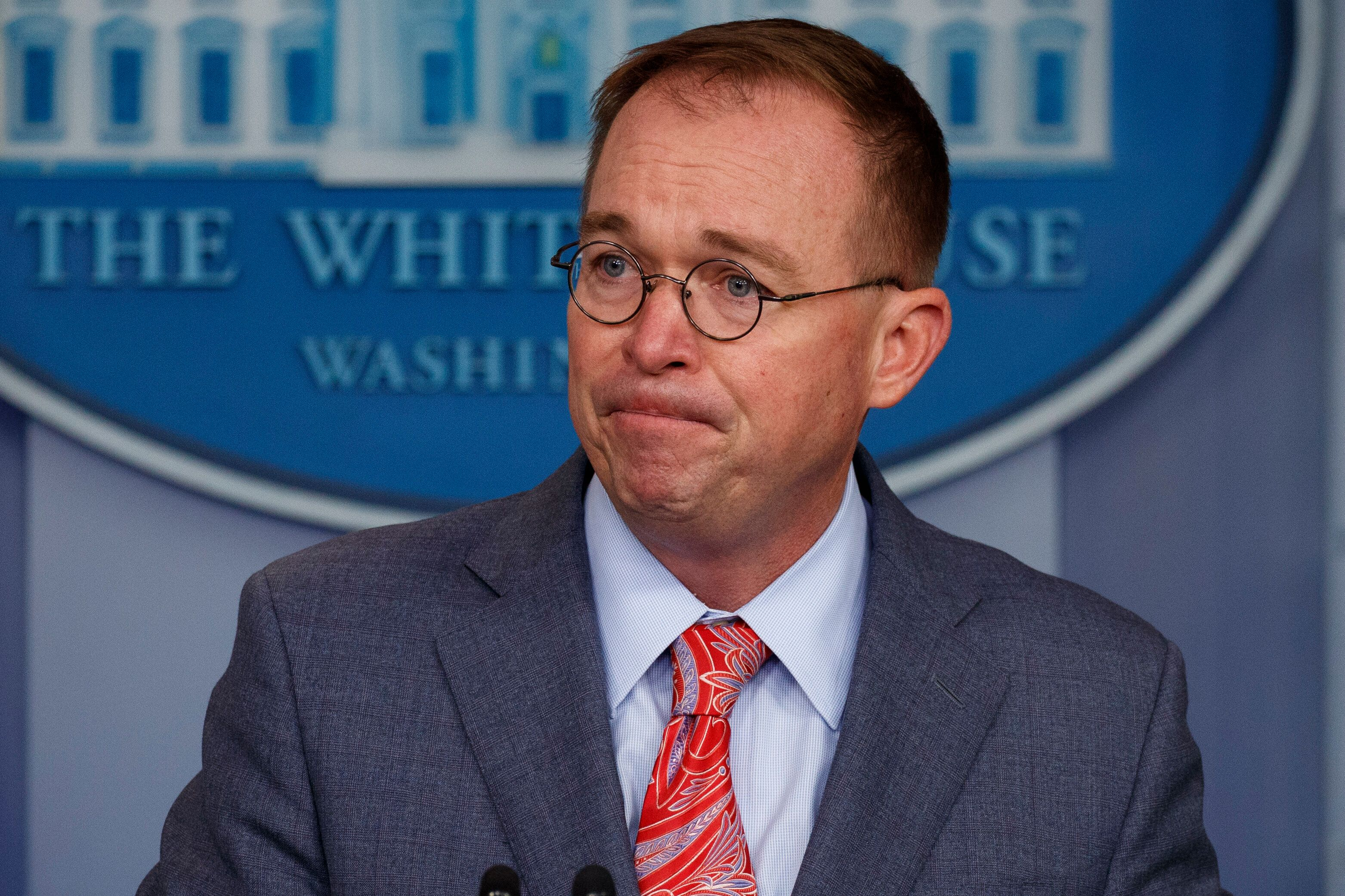 Mick Mulvaney Will Not Sue To Block Impeachment Subpoena After All