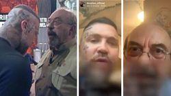 Vauro e l'estremista fanno pace: pranzo con amatriciana e scuse alla giornalista Fagnani