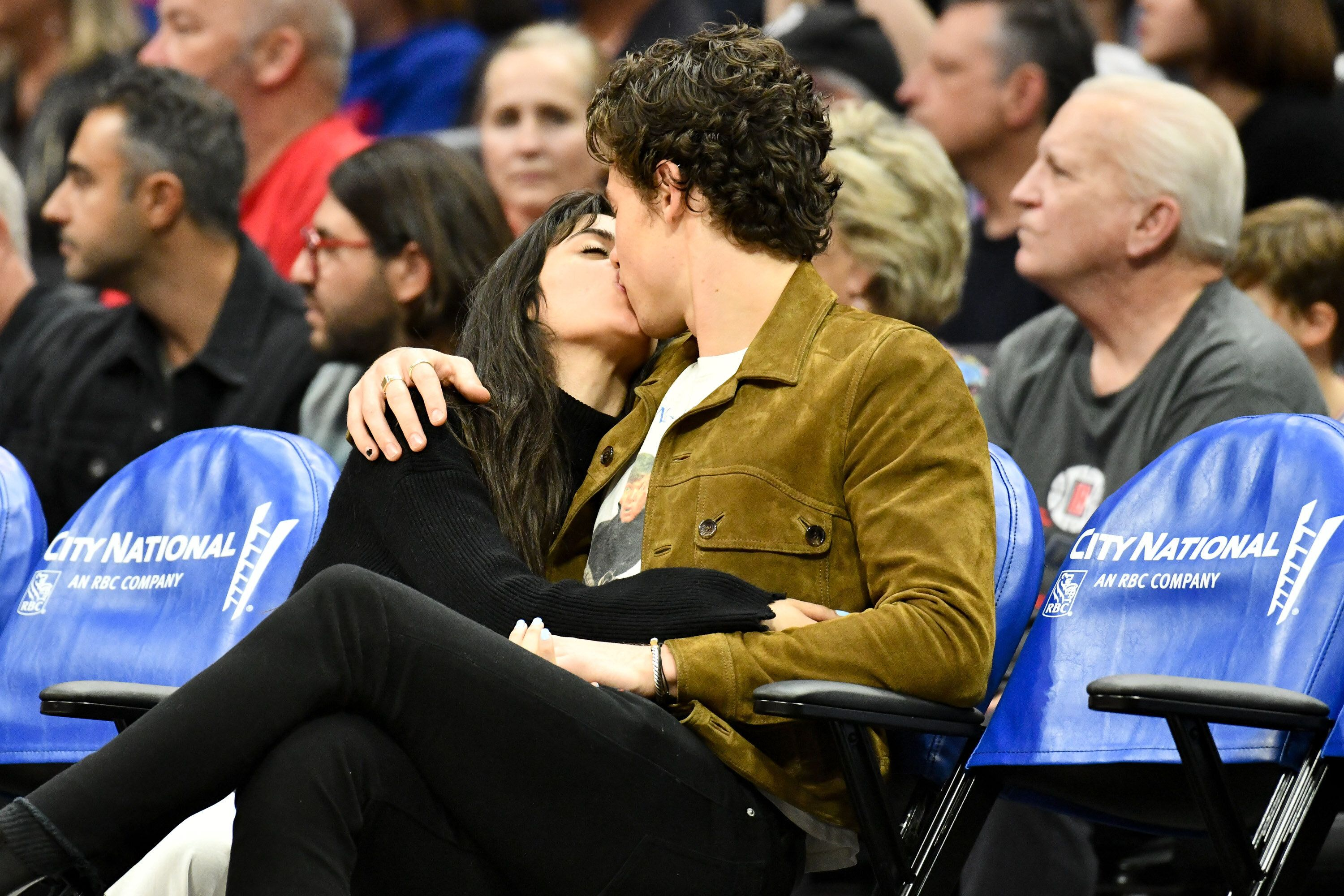 Shawn Mendes And Camila Cabello Make Out Like Crazy At Clippers Game