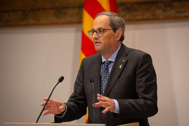 El president de la Generalitat, Quim