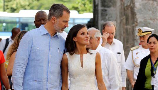 Los reyes de España, de escapada por la Habana
