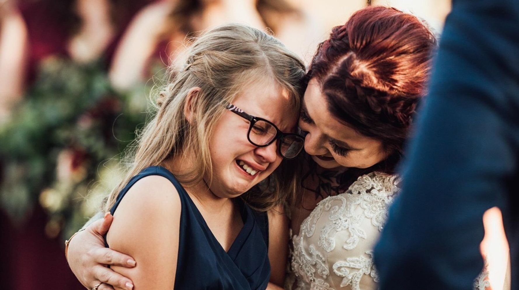 Groom Makes The Most Heartfelt Vows To His 9-Year-Old Stepdaughter
