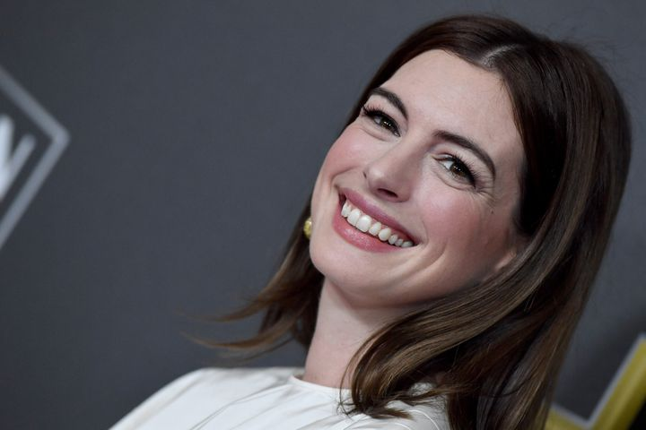 Hathaway attends the 22nd Annual Hollywood Film Awards at The Beverly Hilton Hotel on November 4, 2018, in Beverly Hills, California.