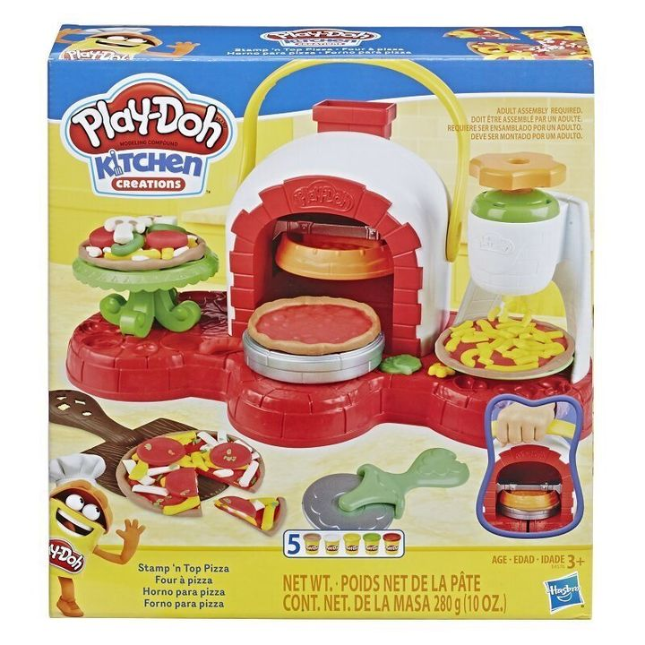 This Play-Doh set is a feast for the eyes only: stress the importance of not eating their culinary creations to your wannabe chefs.