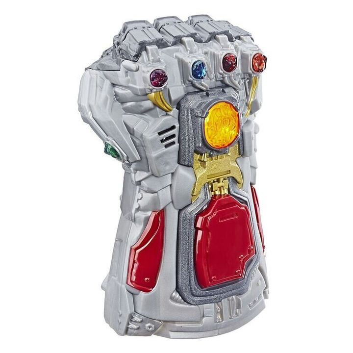 "This gauntlet is a decent replica of the one featured in the ""Avengers"" franchise. Hopefully it doesn't come with the reality-warping powers the original does."
