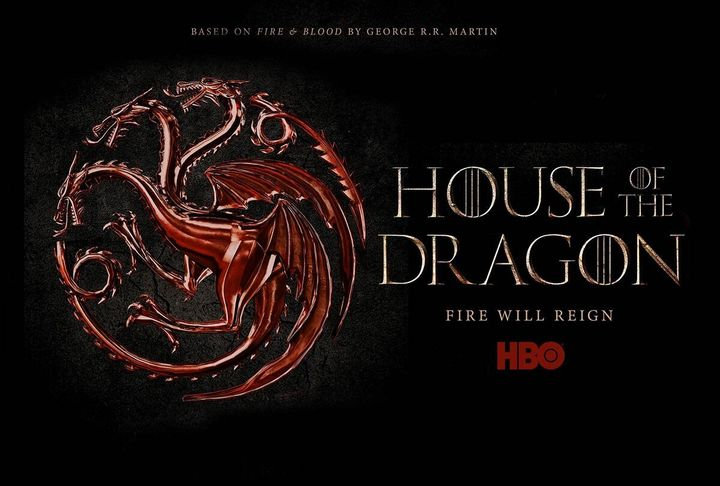 """A promo image for the upcoming show """"House of the Dragon"""""""