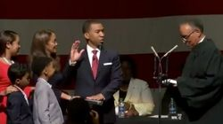 Steven Reed Sworn In As First Black Mayor Of Montgomery,