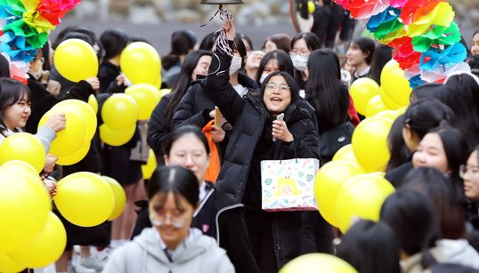 '수험표 확인 필수' 수능 하루 앞둔 수험생들 모습