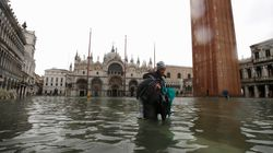 Venice Mayor Blames Climate Change As Italian City Inundated By Highest Tide In 50