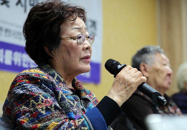 일본군 위안부 피해자 이용수