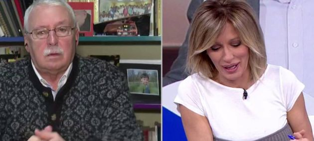 El expresidente madrileño Joaquín Leguina y la periodista Suanna