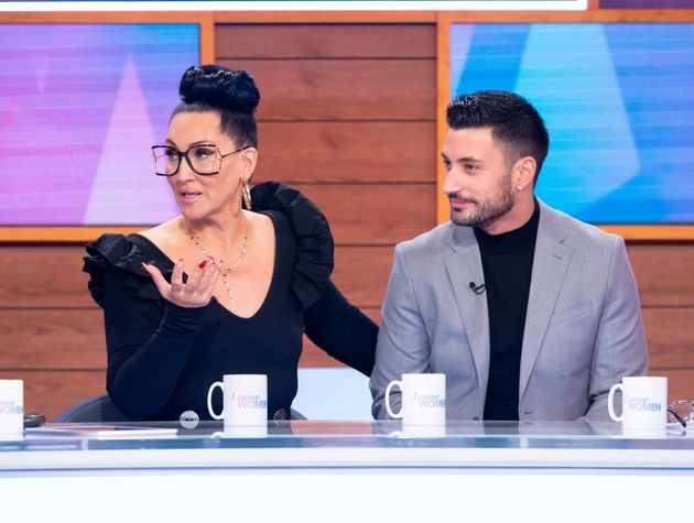 Michelle and Giovanni during a recent appearance on Loose