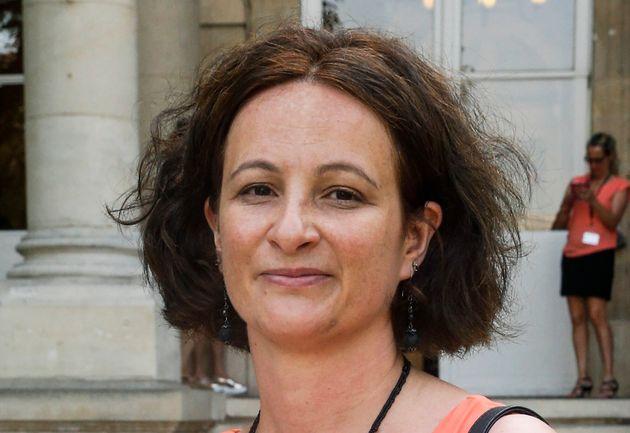 Jennifer de Temmerman lors de son entrée à l'Assemblée nationale en juin