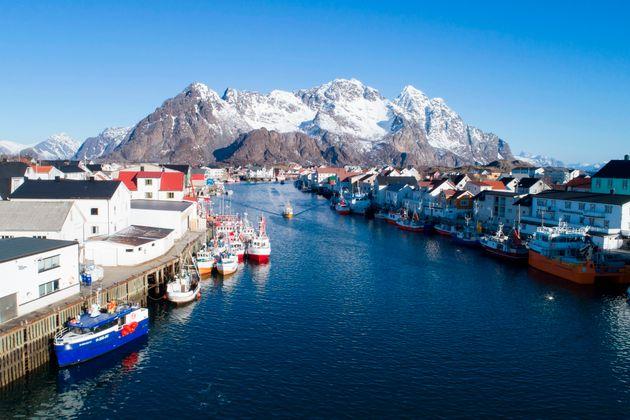 ノルウェーのロフォーテン諸島