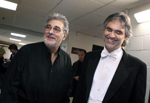Andrea Bocelli difende Placido Domingo dalle accuse di moles