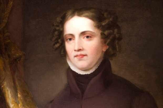 Retrato de Anne Lister, por Joshua Horner.
