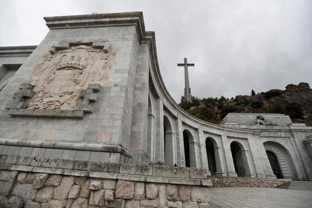 Vista del Valle de los Caídos tras la reapertura de sus puertas.