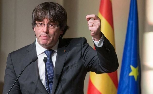 El expresident Carles Puigdemont, en una imagen de