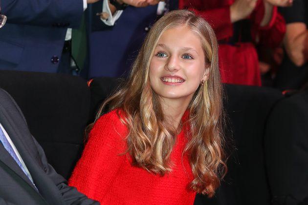 La princesa Leonor, en los Premios Princesa de Girona el 4 de octubre de