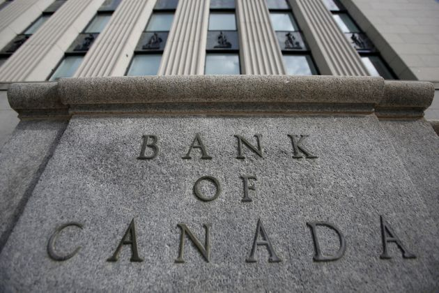 A Bank of Canada sign is pictured outside of a building in Ottawa on May 23,