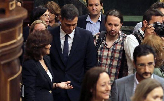 El nuevo Gobierno tendría tres Vicepresidencias con Iglesias, Calviño y
