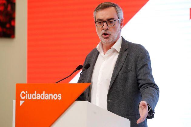 El secretario general de Ciudadanos, José Manuel