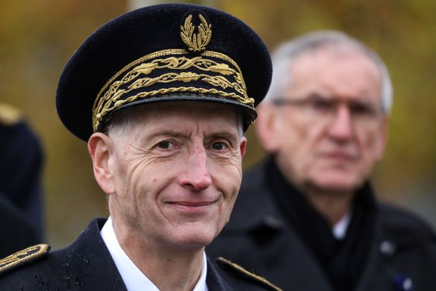 Michel Cadot ici à Paris lors des commémorations du 101e anniversaire de l'armistice du...