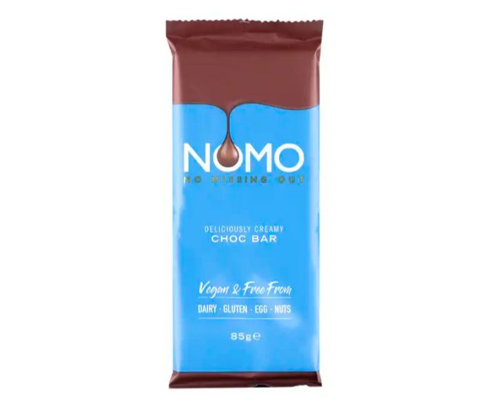 Nomo creamy chocolate bar