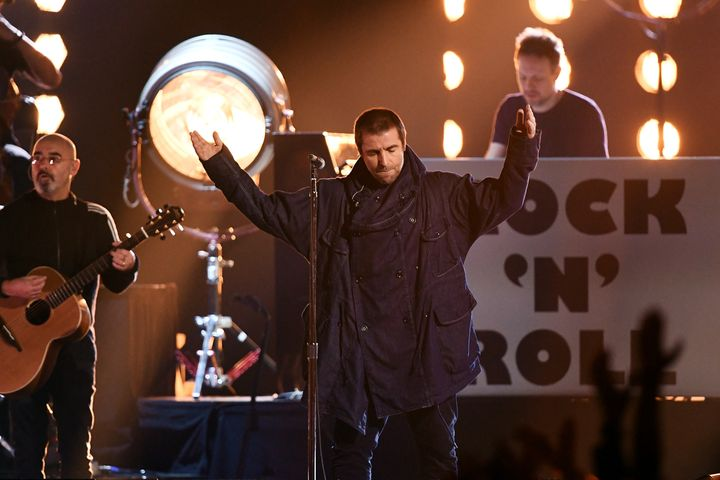 Liam Gallagher received the Rock Icon Award at the 2019 MTV European Music Awards.