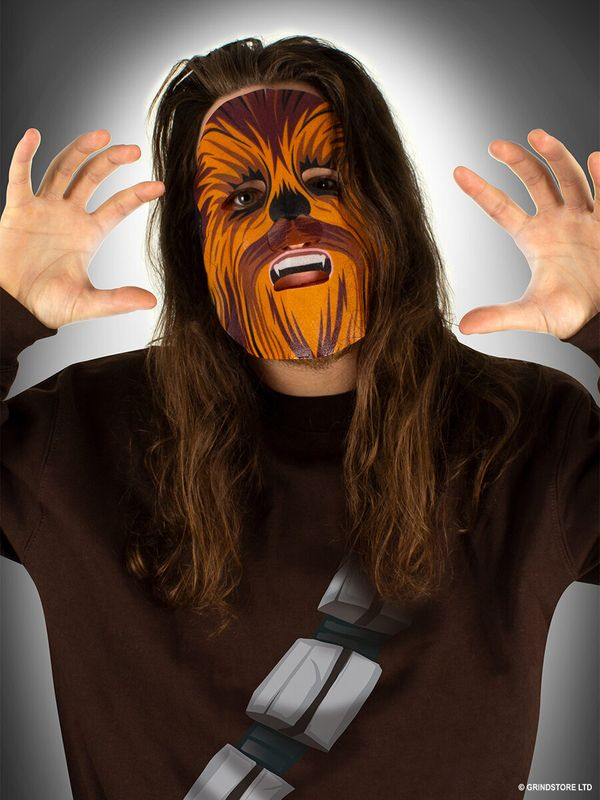 "This <a href=""https://www.grindstore.com/products/star-wars-chewbacca-coconut-extract-sheet-face-mask-985966.html"" target=""_b"