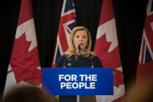 Minister of Health Christine Elliott announces Ontario's plan for long-term health care system at Bridgepoint...