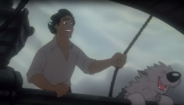 Prince Eric who – let's not pretend otherwise – is definitely the most handsome of the Disney