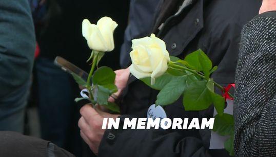 """Des roses et un olivier pour le """"jardin du souvenir"""" en hommage aux victimes du"""
