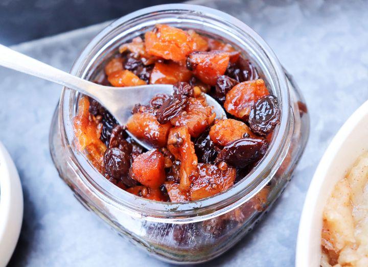 Spiced Dried-Fruit Chutney
