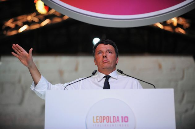 FLORENCE, ITALY - OCTOBER 20: Italian Politician and Senator leader of the new party Italia Viva, Former...