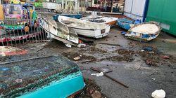 Tromba d'aria in Salento, spiagge erose a Riccione. E il maltempo continua nel