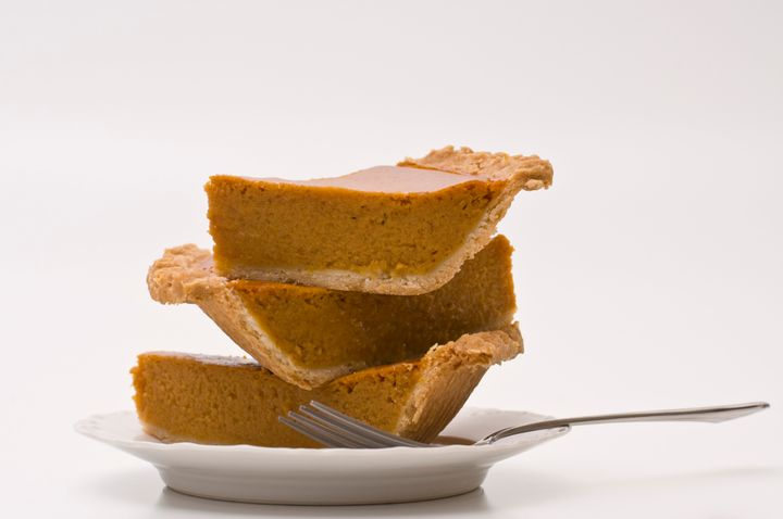 While pre-baked pumpkin pie can be frozen, keep in mind that the texture may suffer after it's been thawed.