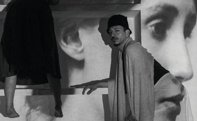 Paulo Salvetti, em cena do ensaio de