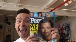 Hugh Jackman Hilariously Welcomes John Legend To Sexiest Man Alive
