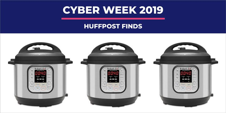 You might be stuffed like a turkey right now, but future you will thank you for snagging this Instant Pot deal.