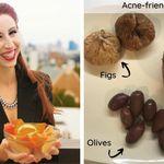 Coma estes 3 alimentos para combater a acne e limpar a pele, indica