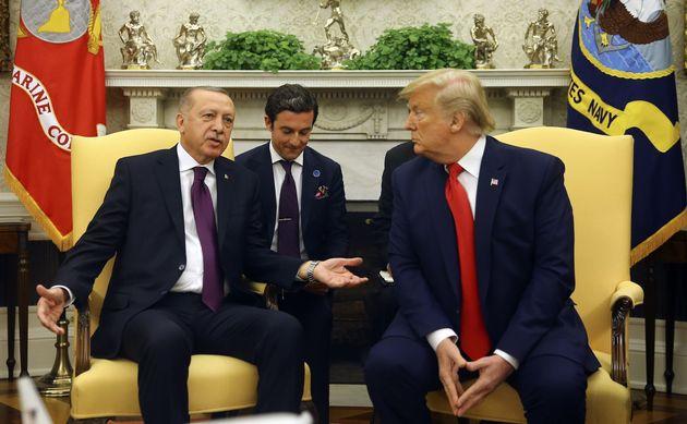 Recep Tayyip Erdogan et Donald