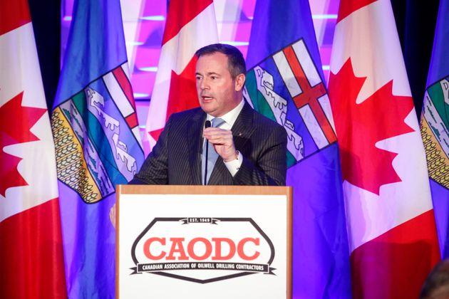 Alberta Premier Jason Kenney speaks at the Canadian Association of Oilwell Drilling Contractors meeting...