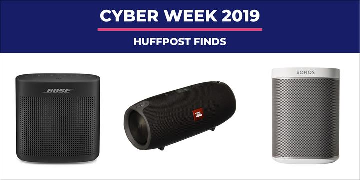 Black Friday 2019 Speaker Deals Portable Speakers Sound Bars And Wireless Speakers Huffpost Life