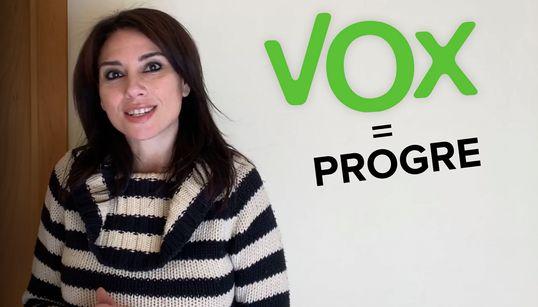 """″¿Votaste a Vox? Enhorabuena, eres progre"""", por Marta"""