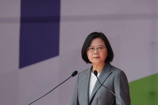 台湾の蔡英文総統(2019年10月10日)