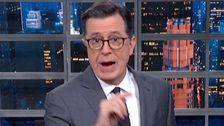 Colbert Αποκαλύπτει Πώς Ατού είναι Μομφή, Είναι Ήδη Χειρότερο Από το Νίξον