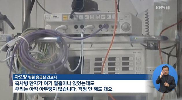 KBS뉴스 보도화면